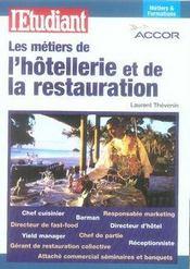 Les métiers de l'hôtellerie et de la restauration - Intérieur - Format classique