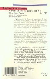 Albina Et Les Hommes Chiens - 4ème de couverture - Format classique