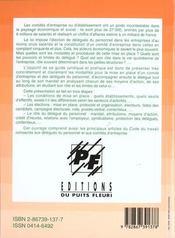 Les representants du personnel. delegue du personnel, comited'entreprise, delegue syndical : electio - 4ème de couverture - Format classique