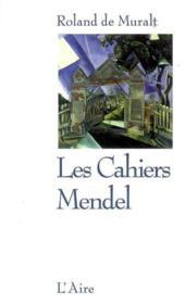 Cahiers Mendel -Les - Couverture - Format classique