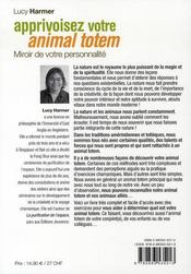 Apprivoisez votre animal totem - 4ème de couverture - Format classique