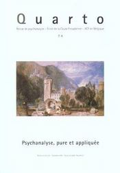 Revue Quarto - Intérieur - Format classique