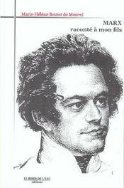 Marx Raconte A Mon Fils - Intérieur - Format classique
