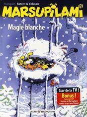 Marsupilami t.19 ; magie blanche - Intérieur - Format classique