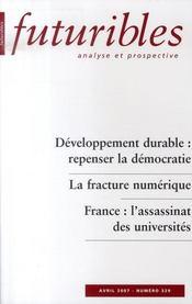 Developpement Durable ; Repenser La Democratie - Intérieur - Format classique