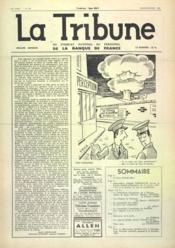 Tribune (La) N°385 du 01/01/1960 - Couverture - Format classique