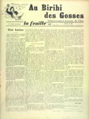 Feuille De Zo D'Axa (La) N°21 - Intérieur - Format classique