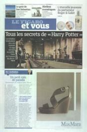 Figaro Et Vous (Le) N°21034 du 17/03/2012 - Couverture - Format classique