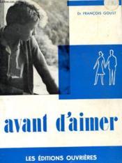 Avant D'Aimer - Couverture - Format classique