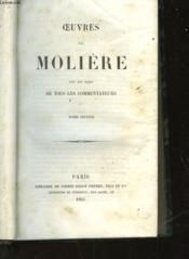 Oeuvres De Moliere Avec Des Notes De Tous Les Commentateurs - Tome Second - Couverture - Format classique
