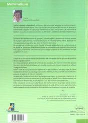 Groupes Et Symetries Groupes Finis Groupes Et Algebre De Lie Representations - 4ème de couverture - Format classique