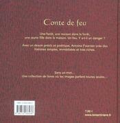 Conte De Feu - 4ème de couverture - Format classique