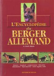 Encyclopedie Du Berger Allemand (L') Relie - Intérieur - Format classique