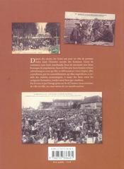 Foires populaires de Normandie - 4ème de couverture - Format classique