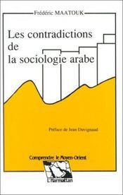 Les contradictions de la sociologie arabe - Intérieur - Format classique