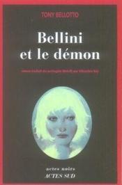 Bellini et le démon - Couverture - Format classique