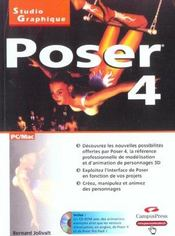 Poser 4 - Intérieur - Format classique