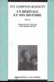 Un Heritage Et Son Histoire - Couverture - Format classique
