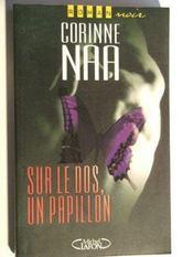 Sur le dos, un papillon. roman noir - Intérieur - Format classique