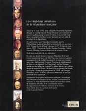 Les vingt-deux presidents de la republique francaise - 4ème de couverture - Format classique