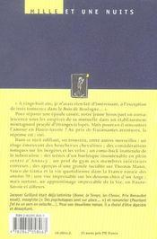 Mes Aventures En Haute-Savoie - 4ème de couverture - Format classique