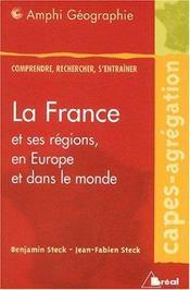La france et ses regions, en europe et dans le monde - Intérieur - Format classique