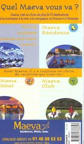 France 2000 - 4ème de couverture - Format classique