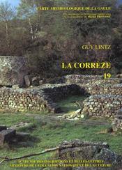 Carte Archeologique De La Gaule T.19 ; La Corrèze - Intérieur - Format classique