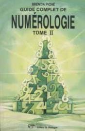 Guide Complet De Numerologie T2 - Couverture - Format classique