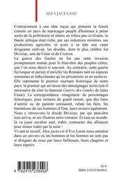 Alea Jacta Est - 4ème de couverture - Format classique