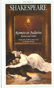 Vente livre :  Roméo et Juliette  - William Shakespeare