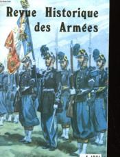 Revue Historique Des Armees - Numero 4-1981 - Couverture - Format classique