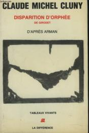 Disparition d'orphee - Couverture - Format classique