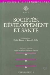 Societes Developpement Et Sante - Couverture - Format classique