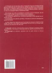 Encyclopedie Du Rottweiler (L') Relie - 4ème de couverture - Format classique