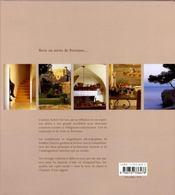 Provence(s), l'art des maisons - 4ème de couverture - Format classique