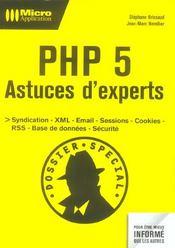 Php 5 astuces d'experts - Intérieur - Format classique