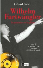 Wilhelm Furtwangler - Intérieur - Format classique