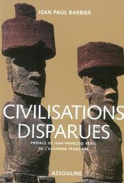 Civilisations perdues - Intérieur - Format classique