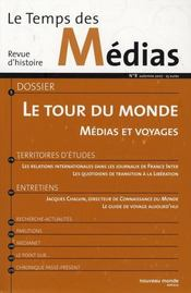 Revue Temps Des Medias N8 - Intérieur - Format classique