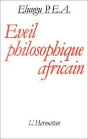 Éveil philosophique africain - Couverture - Format classique