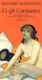 Ci - Git Constance - Recit Traduit De L'Anglais - Couverture - Format classique