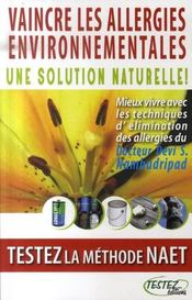 Vaincre les allergies environnementales ; une solution naturelle - Intérieur - Format classique