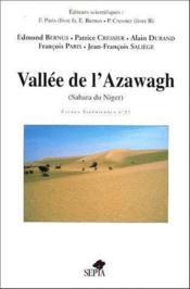 Vallée de l'Azawagh (Sahara du Niger) - Couverture - Format classique