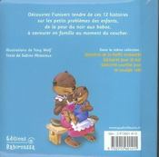 Histoires de chagrins et de calins - 4ème de couverture - Format classique