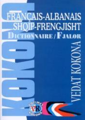 Dictionnaire francais-albanais vice versa - Couverture - Format classique