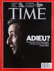 Time N°14 du 02/04/2012 - Couverture - Format classique