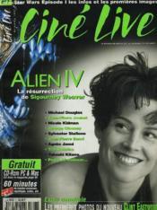 CINE LIVE - N° 7 - ALIEN IV: la résurrection de Sigourney Weaver - Couverture - Format classique