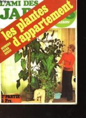 Les Plantes D'Appartement - Couverture - Format classique
