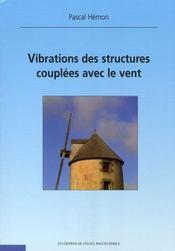 Vibrations des structures couplées avec le vent - Intérieur - Format classique